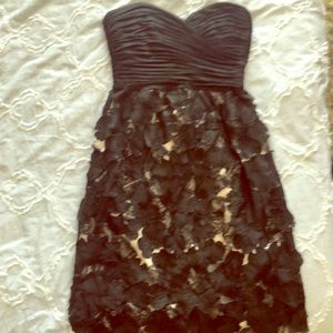 Strapless BCBG dress size 2